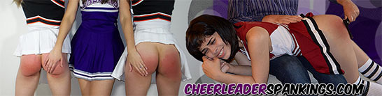 cheerleaderspankings